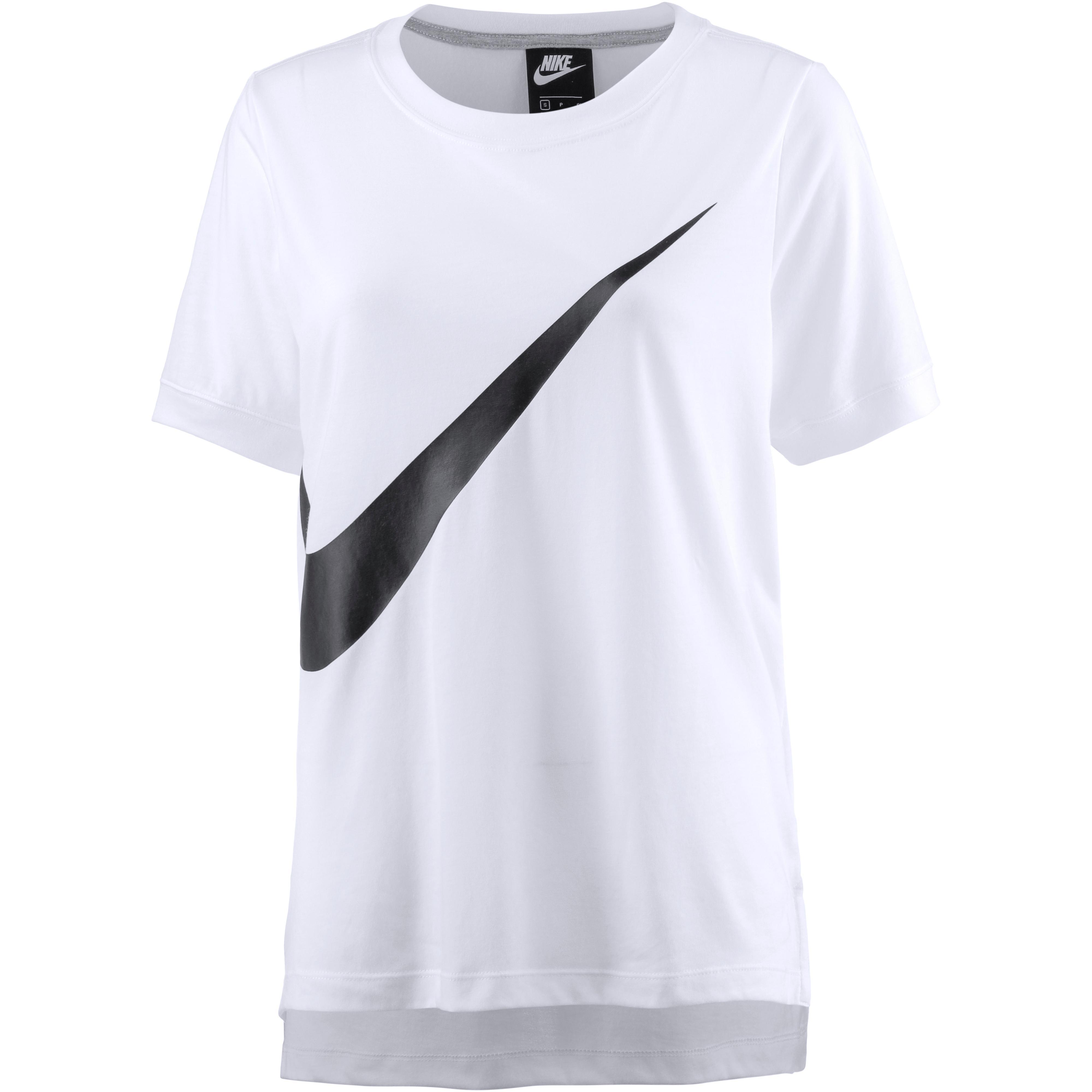 Nike T-Shirt Damen white-black im Online Shop von SportScheck kaufen