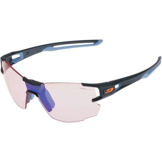Julbo AEROLITE ZEBRA LIGHT ROT Sportbrille dunkelblau/ blau