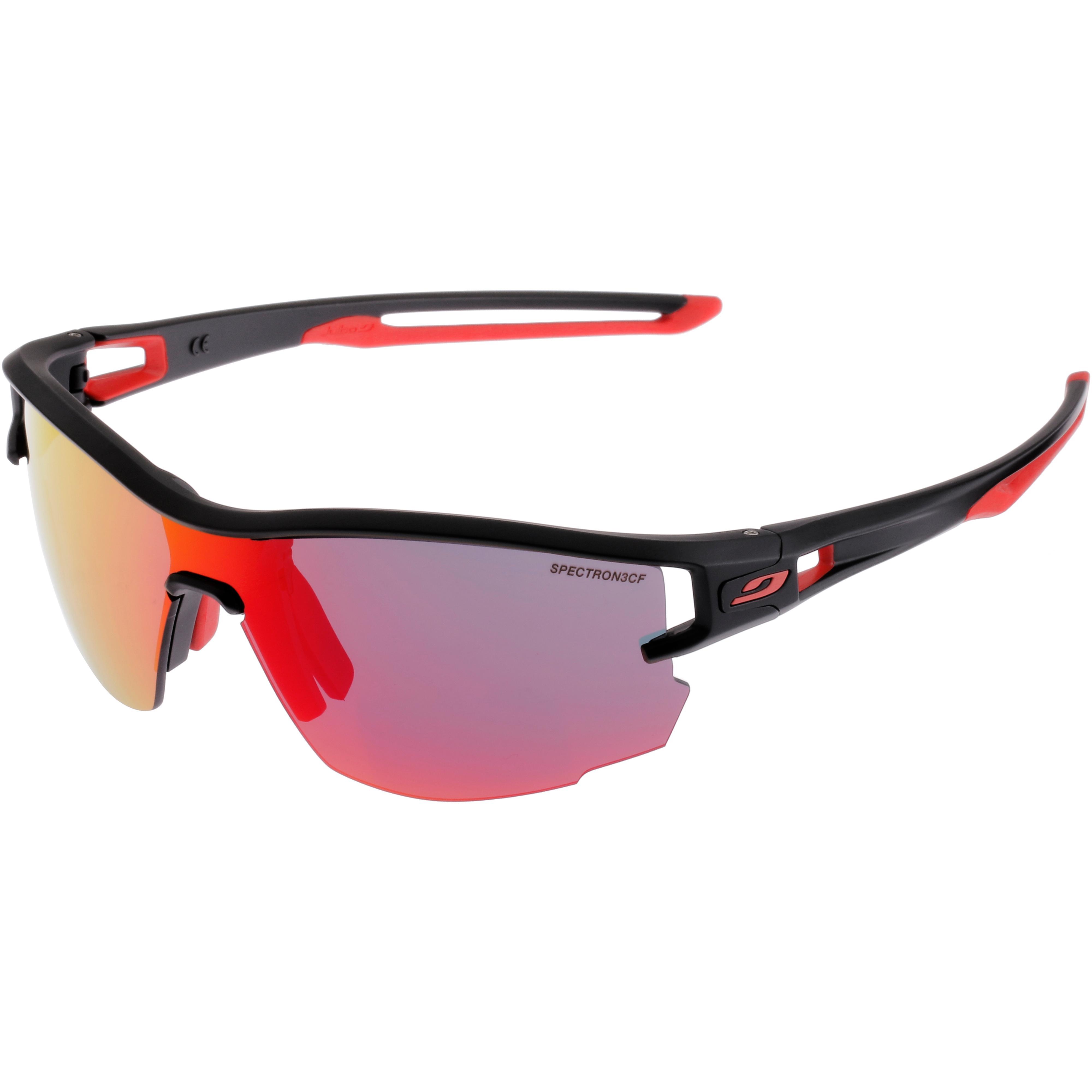 brillen von julbo im online shop von sportscheck kaufenjulbo aero spectron 3 cf sportbrille schwarz rot