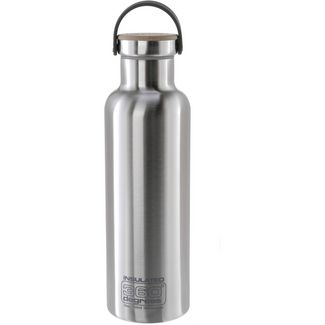 360° degrees Vacuum insulated Isolierflasche silberfarben