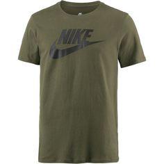 Nike Futura Icon T-Shirt Herren olive-canvas-black