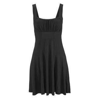 BEACH TIME Jerseykleid Damen schwarz
