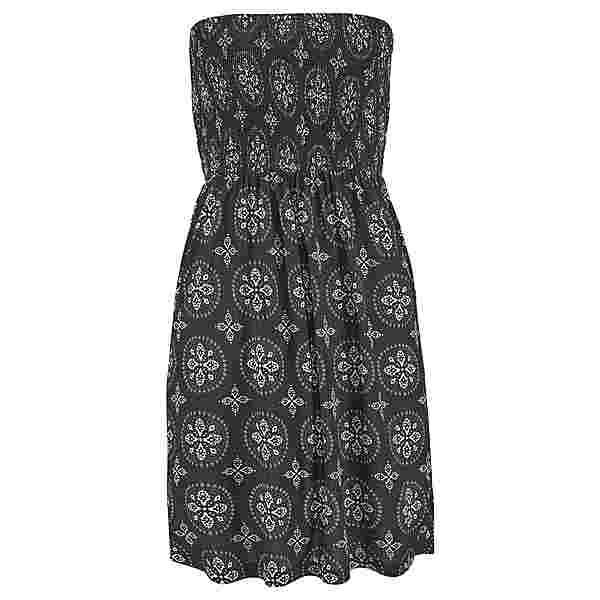 Lascana Jerseykleid Damen schwarz-beige-bedruckt