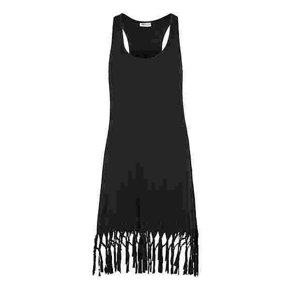 BEACH TIME Longshirt Damen schwarz