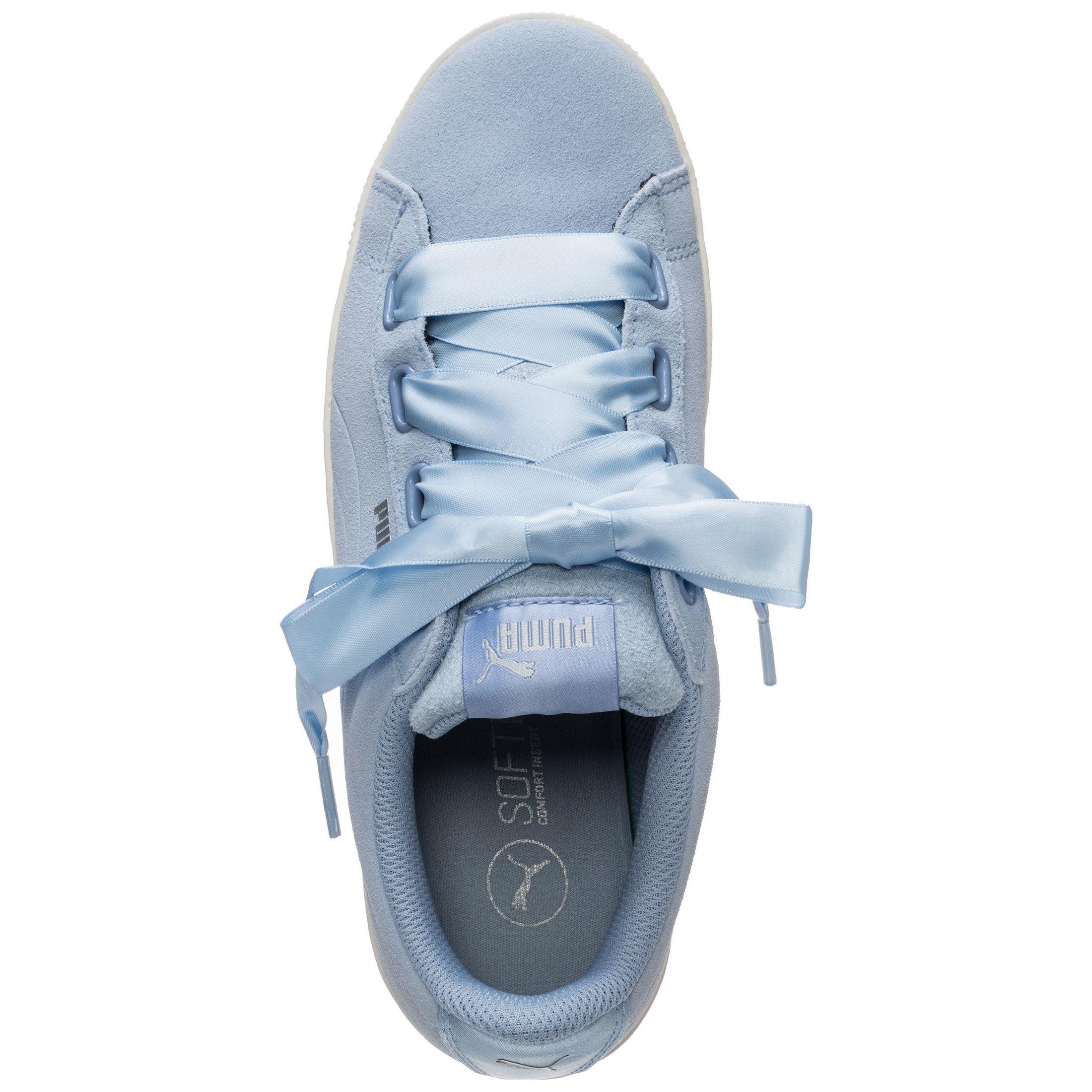 PUMA Vikky Platform Ribbon Turnschuhe Shop Damen hellblau im Online Shop Turnschuhe von SportScheck kaufen Gute Qualität beliebte Schuhe bbc33f