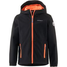 ICEPEAK Softshelljacke Kinder black