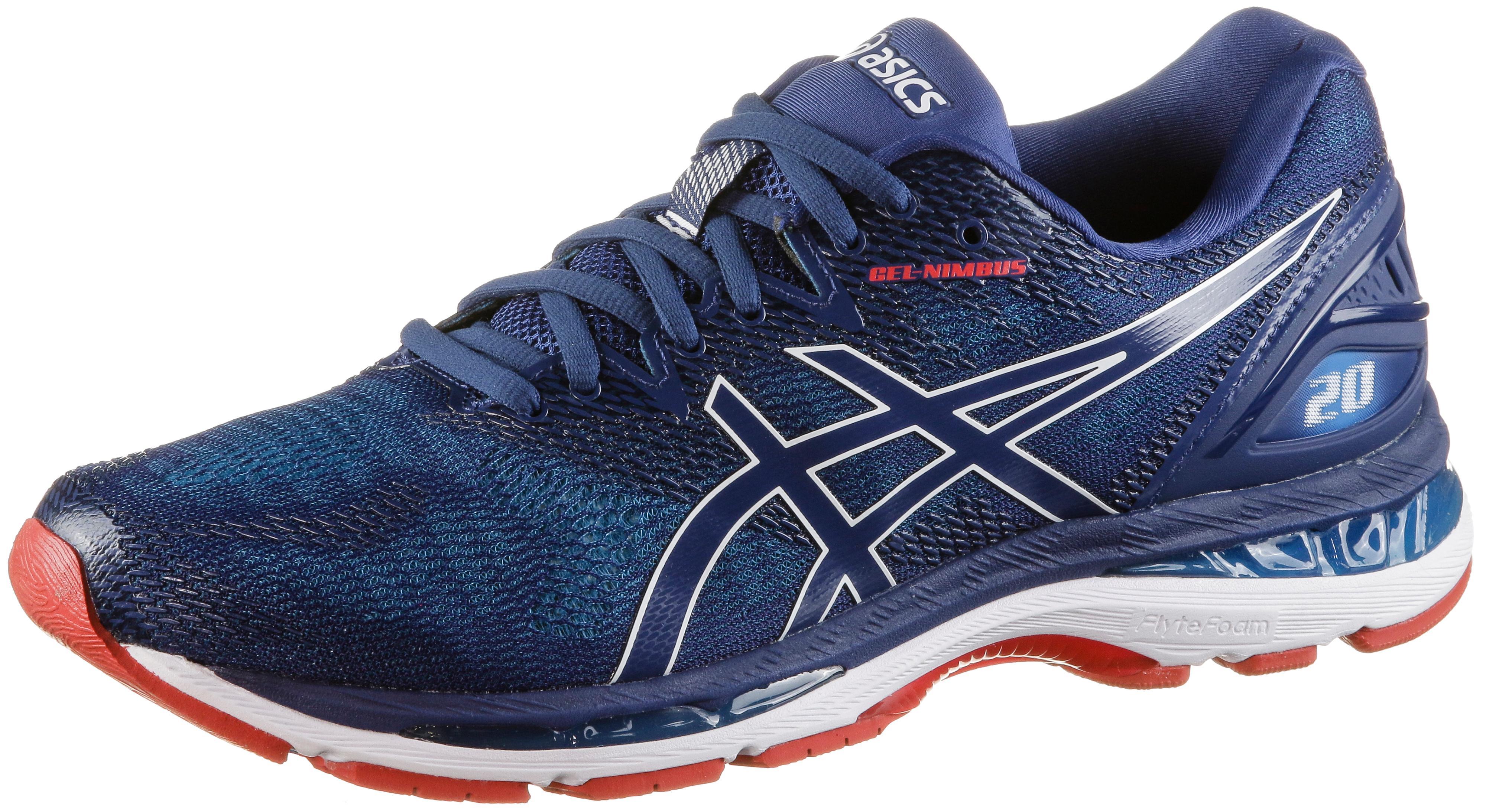 ASICS GEL-NIMBUS 20 Laufschuhe Herren blue-print-race-blue im Online Shop  von SportScheck kaufen