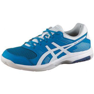 hot sale online 5822e 64320 ASICS Gel-Rocket 8 Hallenschuhe Herren race-blue-white