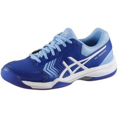 ASICS GEL-DEDICATE 5 INDOOR Tennisschuhe Damen monaco blue