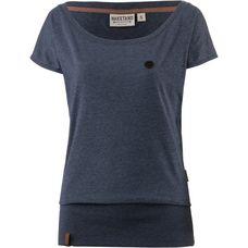 Naketano Wolle T-Shirt Damen bluegrey-melange