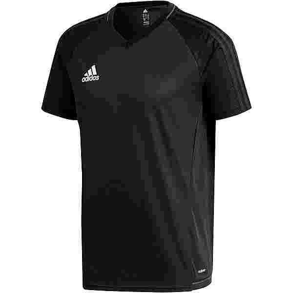 adidas TIRO 17 Funktionsshirt Herren black-dkgrey-white