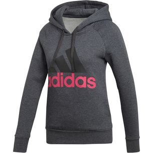 adidas Essential Hoodie Damen dark grey heather