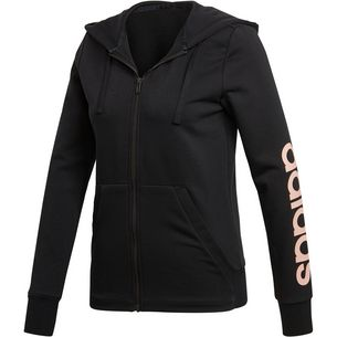 adidas Essential Sweatjacke Damen black/haze coral