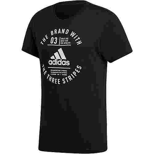 adidas Emblem T-Shirt Herren black