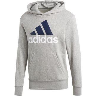 adidas Hoodie Herren medium grey heather