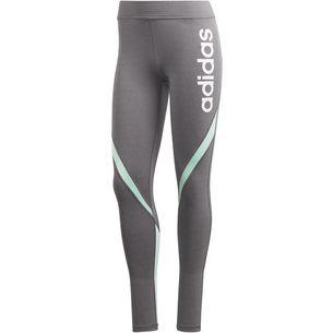 adidas Linear Tights Damen grey four