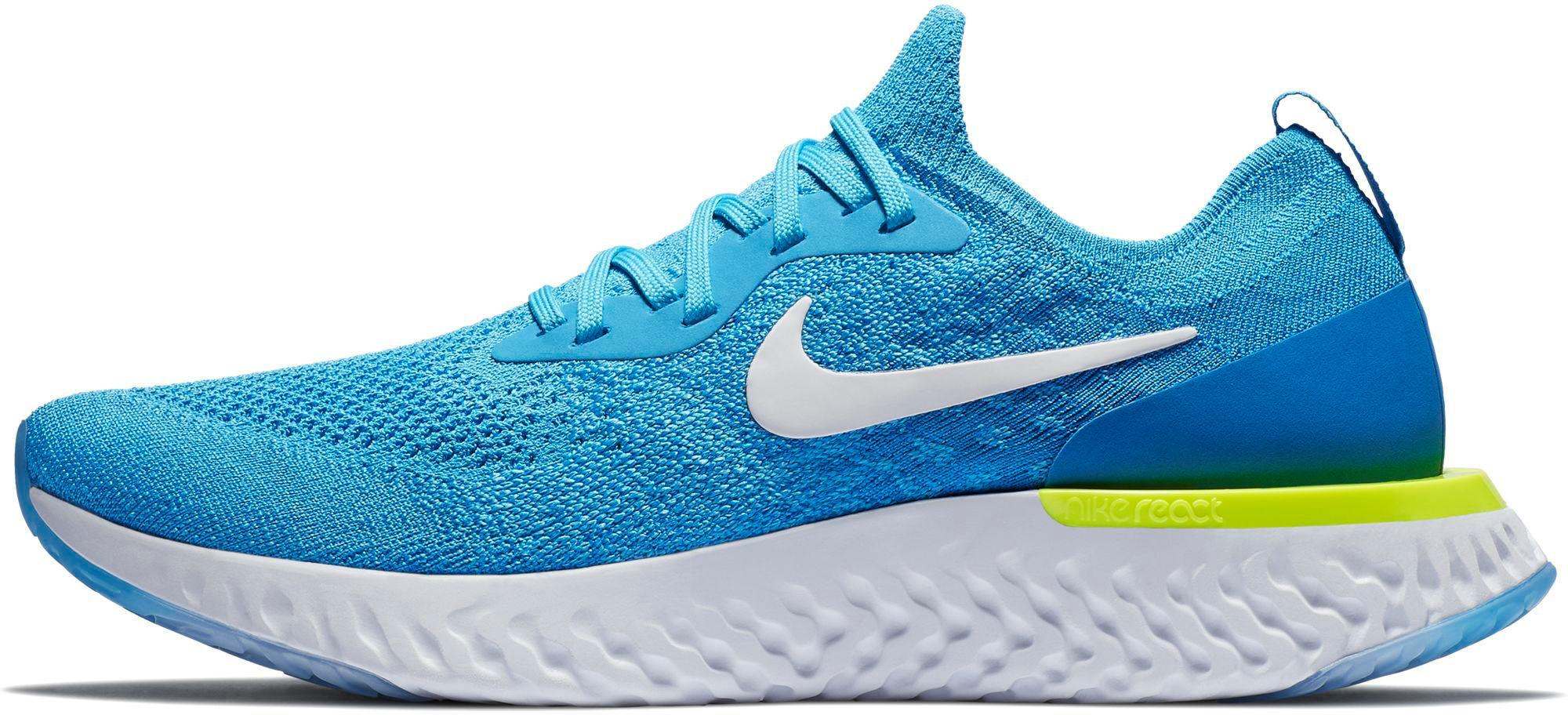f417fcdc1337 Nike EPIC REACT FLYKNIT Laufschuhe Herren blue-glow-white-photo-blue-volt- glow im Online Shop von SportScheck kaufen