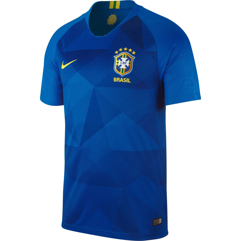 Nike Brasilien 2018 Auswärts Fußballtrikot Herren