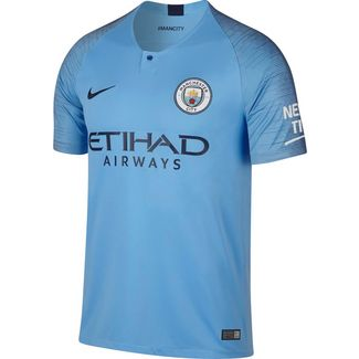 Nike Manchester City 18/19 Heim Fußballtrikot Herren field blue-midnight navy
