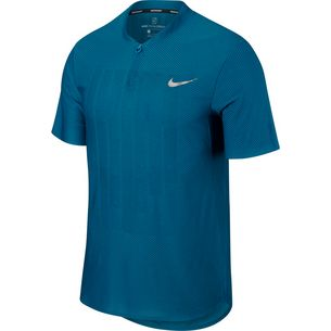 Nike French Open NKCT ZNL CL ADV POLO PS NT Tennis Polo Herren GREEN ABYSS/GREEN ABYSS/(METALLIC SILVER)