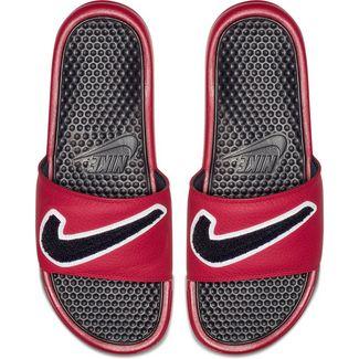 Nike BENASSI JDI CHENILLE Badelatschen Herren gym red-obsidian-white-dark