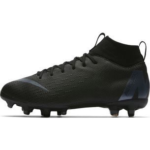 Nike MERCURIAL JR SUPERFLY 6 ACADEMY GS MG Fußballschuhe Kinder black-anthracite-black-lt crimson