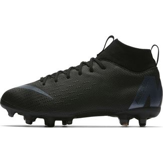 Nike MERCURIAL JR SUPERFLY 6 ACADEMY GS MG Fußballschuhe Kinder black-anthracite-black-lt crimson