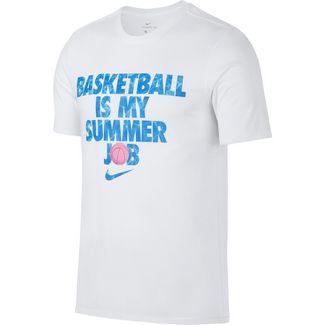 Nike M NK DRY SUMMER JOB Funktionsshirt Herren white