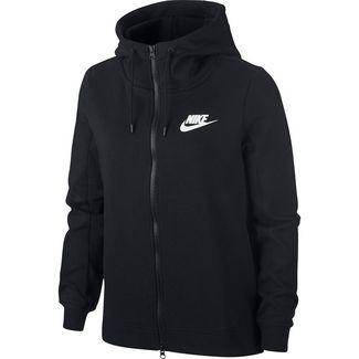Nike Optic Sweatjacke Damen black-white