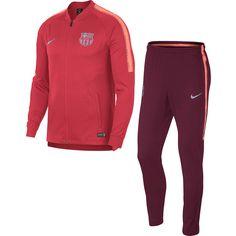 Nike FC Barcelona Trainingsanzug Herren tropical pink-deep maroon-lt atomic pink-reflective silv