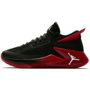 Nike JORDAN FLY Sneaker Kinder black-white-gym red