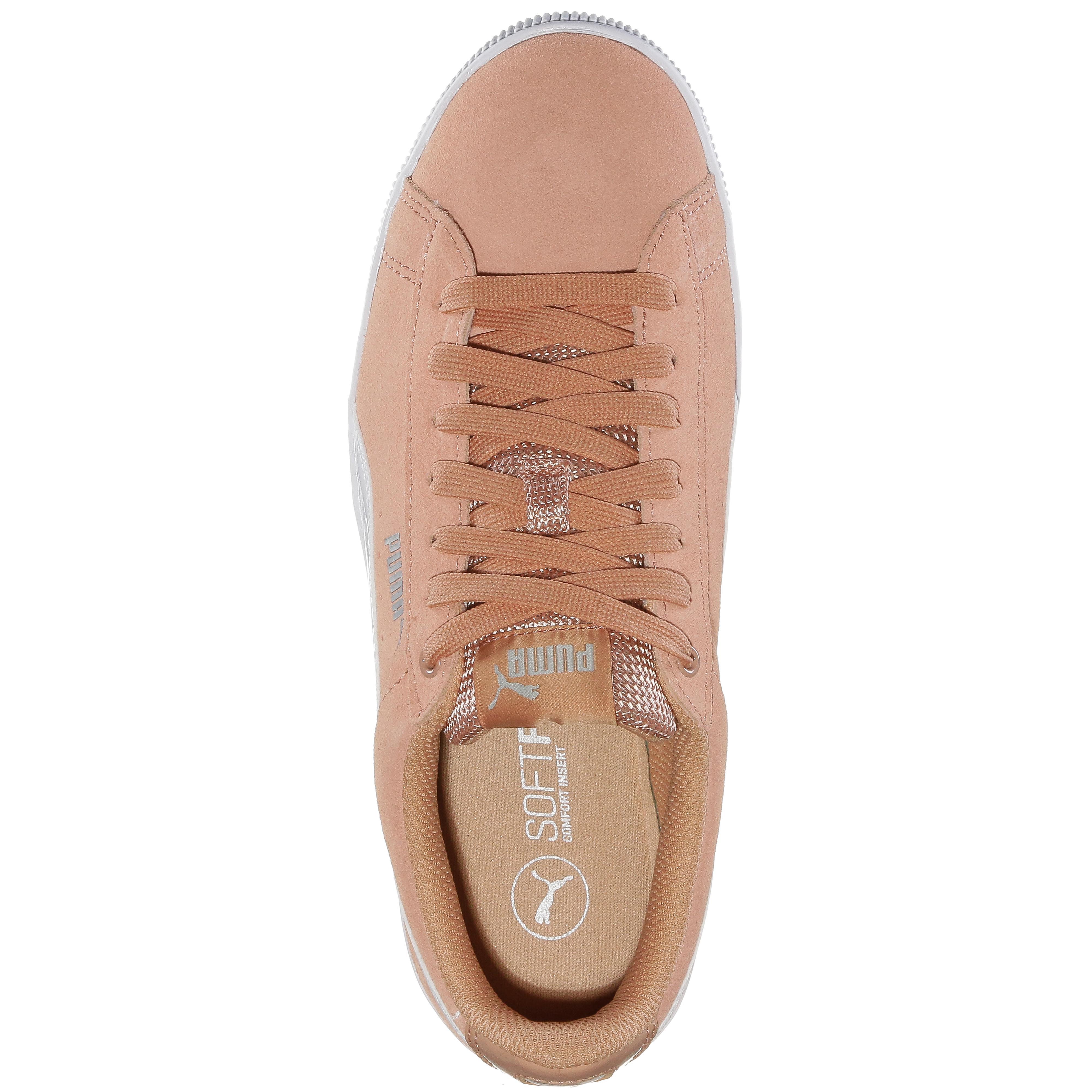 PUMA VIKKY PLATFORM Turnschuhe Damen dusty coral-puma Online Weiß im Online coral-puma Shop von SportScheck kaufen Gute Qualität beliebte Schuhe 842056