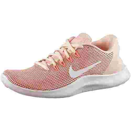 Nike Flex 2018 RN Laufschuhe Damen crimson-tint-white-pink-tint-orange-pulse