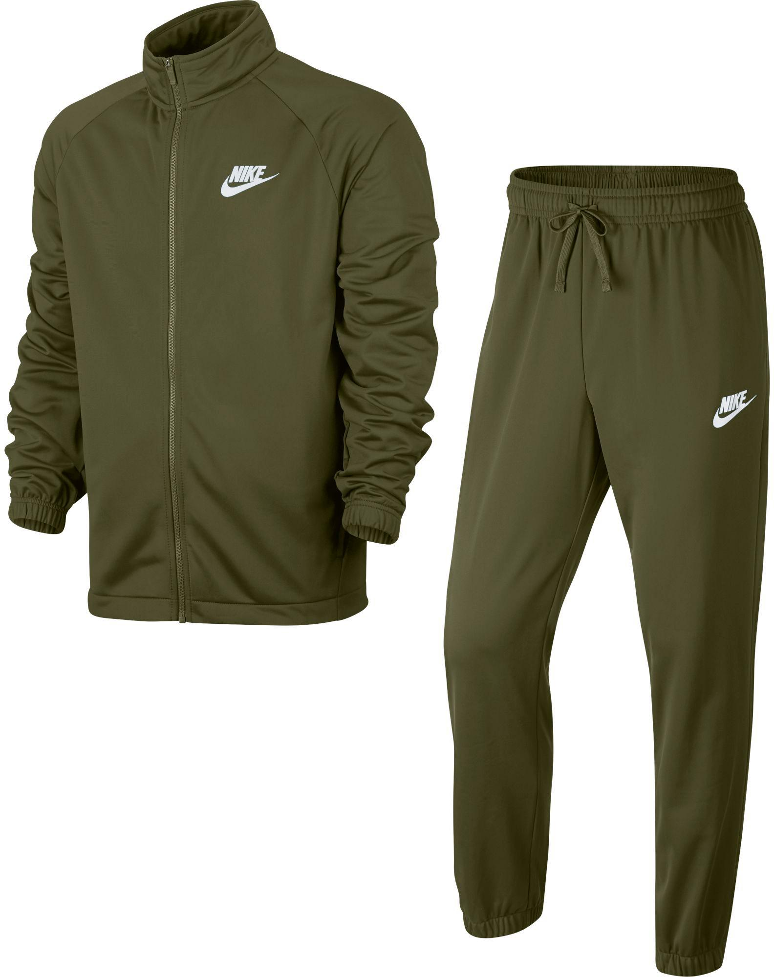 Nike NSW Trainingsanzug Herren olive canvas-olive canvas-white im Online Shop von SportScheck kaufen