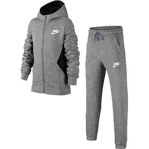 Nike Trainingsanzug Jungen carbon heather-black-white im Online Shop von  SportScheck kaufen