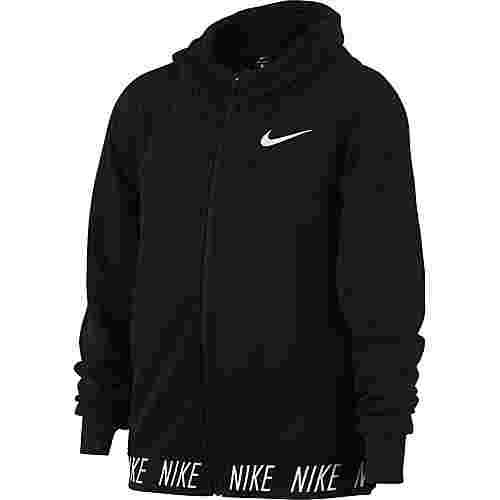 Nike Kapuzenjacke Kinder black-black-white c-o