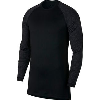 Nike Utility Thermal Funktionsshirt Herren black-anthracite-dark-grey
