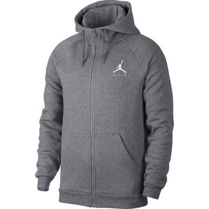 Nike Jumpman Fleece FZ Sweatjacke Herren carbon heather