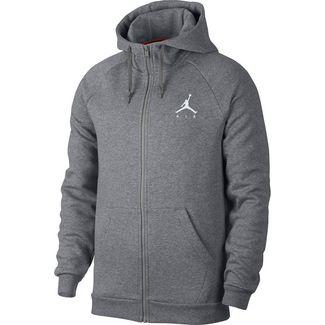 Nike Jumpman Fleece FZ Sweatjacke Herren carbon heather