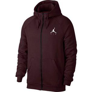Nike Jumpman Fleece FZ Sweatjacke Herren burgundy crush
