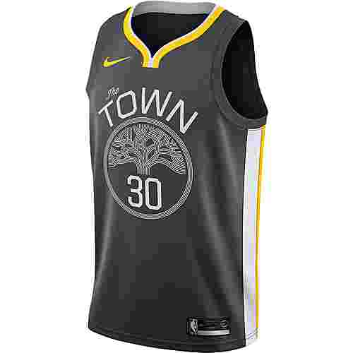 Nike Stephen Curry Golden State Warriors Basketballtrikot Herren anthracite-white-amarillo
