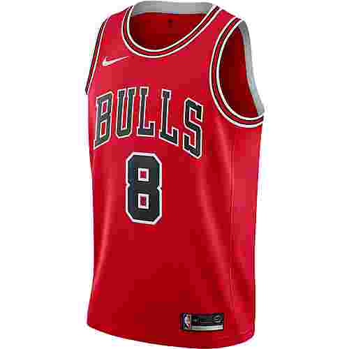 Nike Zach Lavine Chicago Bulls Basketballtrikot Herren university red-white