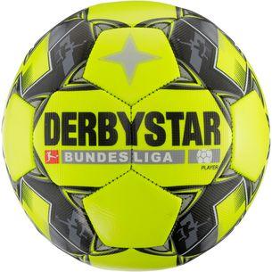 Derbystar Player Bundesliga 18/19 Fußball GELB/SCHWARZ/GRAU