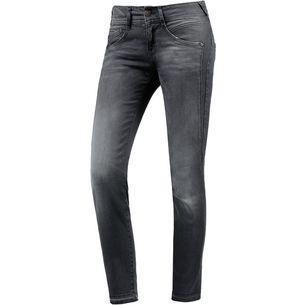 Herrlicher Skinny Fit Jeans Damen black-stripe