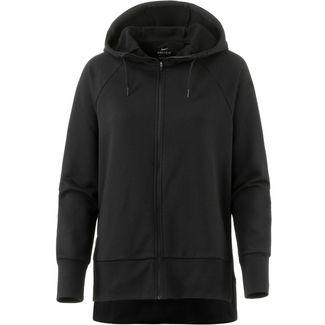 Nike Dry Sweatjacke Damen black