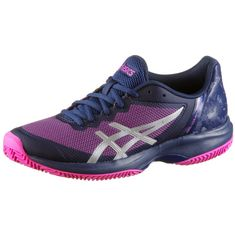 ASICS GEL-COURT SPEED CLAY Tennisschuhe Damen blue print