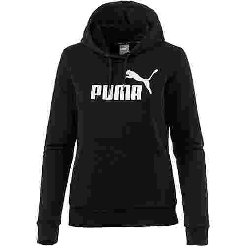 PUMA Essential Logo Hoodie Damen cotton black