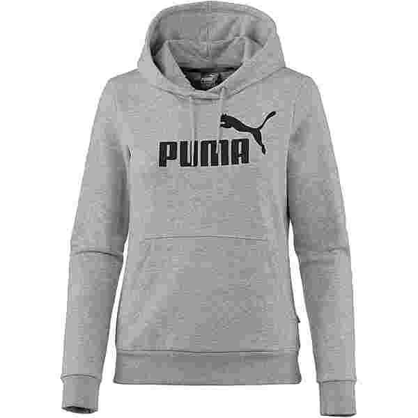 PUMA Essential Logo Hoodie Damen light gray heather