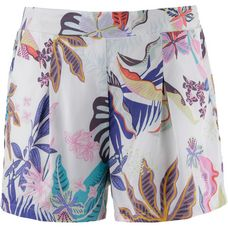 Only Shorts Damen bright white