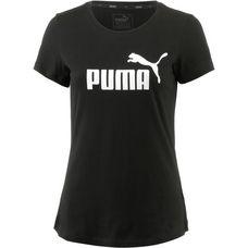PUMA Essential Logo T-Shirt Damen cotton black
